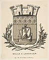 Coat-of-Arms Symbolizing the City of Paris; Bookplate of Bella C. Landauer MET DP813389.jpg