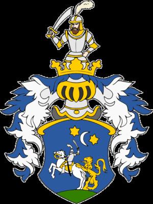 Bakić noble family - Image: Coat Of Arms Of Petar Mihajlovic Bakic