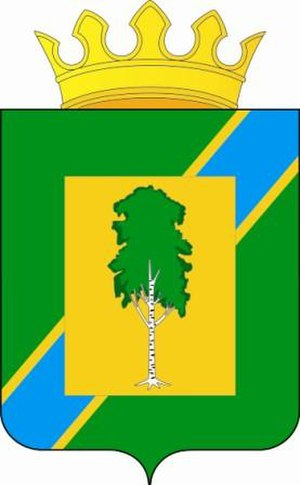 Beryozovsky District, Perm Krai - Image: Coat of Arms of Berezovsky rayon