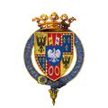 Coat of Arms of Ercole I d'Este, Duke of Ferrara, KG.png