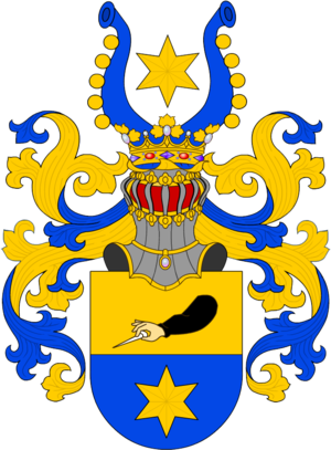 Coat of arms of Siebold Coat of arms of von Siebold.png