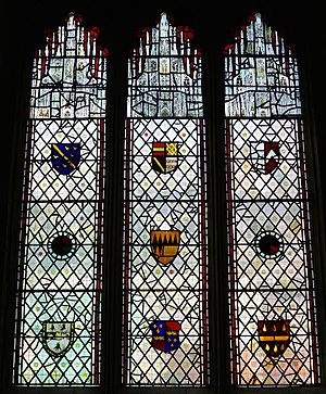 All Saints' Church, North Street, York - Image: Coats of Arms, All Saints' Church, North Street, York