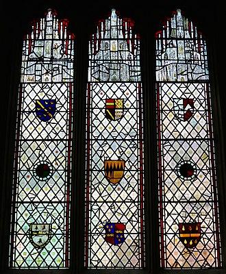 All Saints' Church, North Street, York - Image: Coats of Arms, All Saints' Church, North Street, York