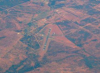 Cobar Airport - Aerial image, 6 March 2009