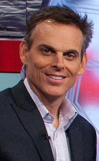 Colin Cowherd - Cowherd on the SportsNation set in 2010