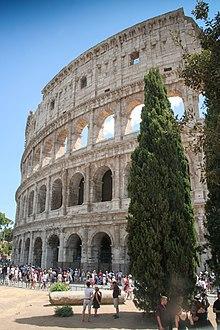 Le Colisée est l'un des lieux les plus visités du monde