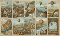 Collecting cards with pictures of events in ballooning history from 1783 to 1883 LCCN2002717348.tif
