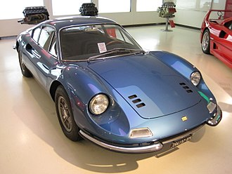 Dino 206 GT and 246 GT - Image: Collection car Musée Ferrari 022