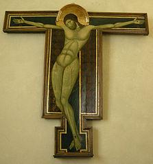 Crucifix du Maestro della croce di Cortona