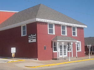 Jay Boy Adams - The Opera House in Colorado City, Texas, where Adams has occasionally performed in the community where he was reared