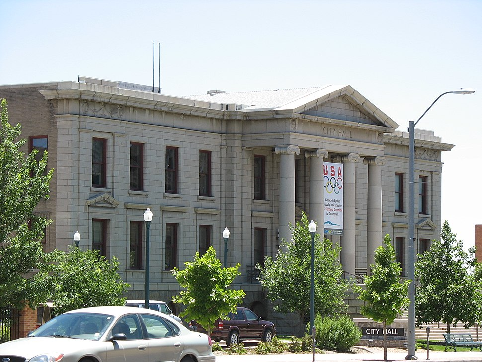Colorado Springs, Colorado city hall