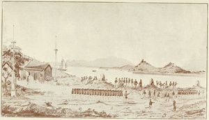Passaleão incident - Image: Combat at Passaleao 1