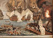 Combat naval 12 avril 1782-Dumoulin-IMG 5484