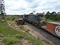 Comboio que saía sentido Boa Vista do pátio da Estação Ferroviária de Itu - Variante Boa Vista-Guaianã km 203 - panoramio.jpg