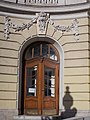 Comedy Theatre. Listed -8361. SW door. - Budapest.JPG