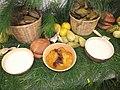 Comida tradicional del dia de muertos de san juan Chamula.JPG
