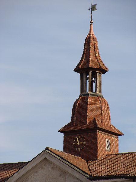 Détail de la toiture de l'ancien Hôtel de Ville, école de Musique, Commercy, Meuse