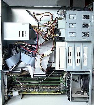 Amiga 4000T - Amiga 4000T internals