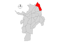Ubicación de Comuna 6