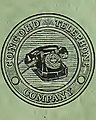 Concord Telephone Company logo detail, from- Telephone Directory for Kannapolis-China Grove N.C. (1953) - DPLA - 5d1c96bd8129c776bf726c2d7fb768ee (page 1 crop).jpg