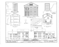 Congregational Church Parsonage, Payson, Adams County, IL HABS ILL.1-PAYSO,2- (sheet 1 of 3).png