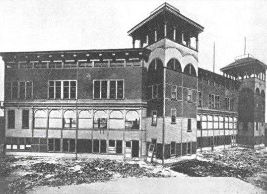 Congress Street Grounds 1890