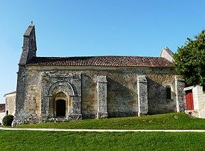 Connezac - Image: Connezac église