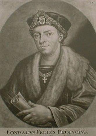 Conrad Celtes - Conradus Celtis