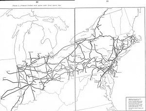 The 1975 Final System Plan left major parts of the Erie Lackawanna Railway and Reading Company out of Conrail.