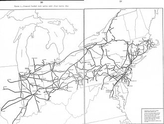 Conrail - The 1975 Final System Plan left major parts of the Erie Lackawanna Railway and Reading Company out of Conrail