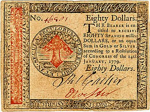 Continental Currency $80 banknote obverse (January 14, 1779).jpg