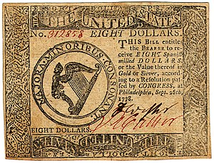 Continental Currency $8 banknote obverse (September 26, 1778).jpg