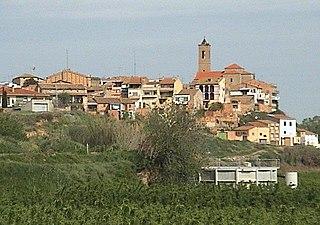 Corbins Municipality in Catalonia, Spain