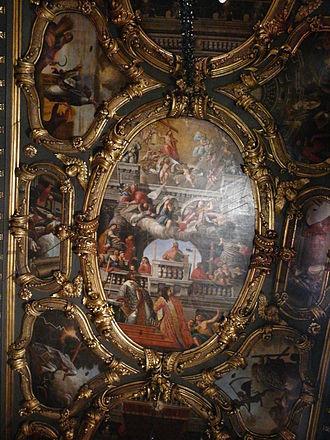 Saint Spyridon Church - The painted ceiling