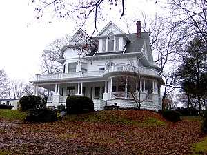 National Register of Historic Places listings in Roane County, Tennessee - Image: Cornstalk heights house tn 1