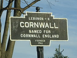 Official logo of Cornwall, Pennsylvania