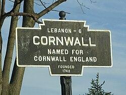 Official logo of Cornwall, Pennsylvania