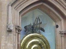 Archivo:Corpus clock, Cambridge.ogv