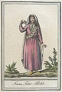 Costumes de Differents Pays, 'Femme Tatar Tobolsk' LACMA M.83.190.220