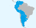 Countries visited by Richard Nixon during 1958 South America tour.png