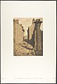 Cour des bubastites et entrée de la Salle Hypostyle du palais de Karnac, Thèbes MET DP131872.jpg