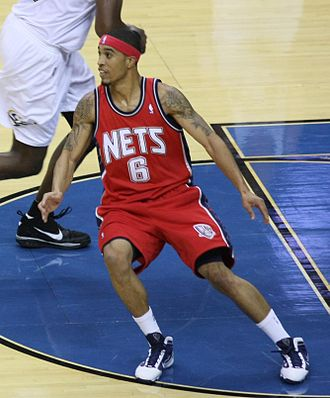 Courtney Lee - Lee with the Nets in October 2009