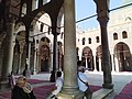 Courtyard of Al-Nasir Muhammad Mosque Cairo Citadel 2019 (2).jpg