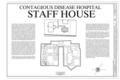 Cover Sheet - Ellis Island, Contagious Disease Hospital Staff House, New York Harbor, New York, New York County, NY HABS NY-6086-R (sheet 1 of 9).png