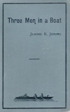 Three Men in a Boat - Image: Cover of Jerome K Jerome's Three Men in a Boat (1st ed, 1889)