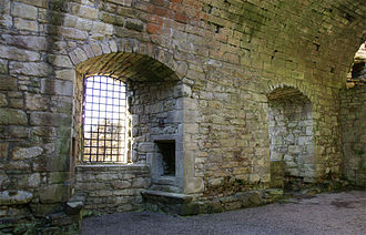James Hamilton of Finnart - The hall Hamilton of Finnart built for himself at Craignethan Castle
