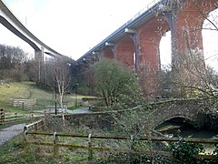 Crawford's Bridge, Ouseburn - geograph.org.uk - 1775388.jpg