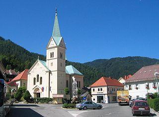 Črna na Koroškem Place in Carinthia, Slovenia