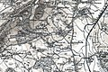 Croft and Yarpole, Herefordshire, OS Map Sheet 181 - Ludlow (Hills) 1899.jpg