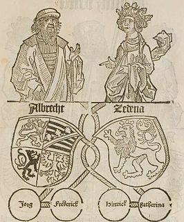 Sidonie of Poděbrady Czech princess